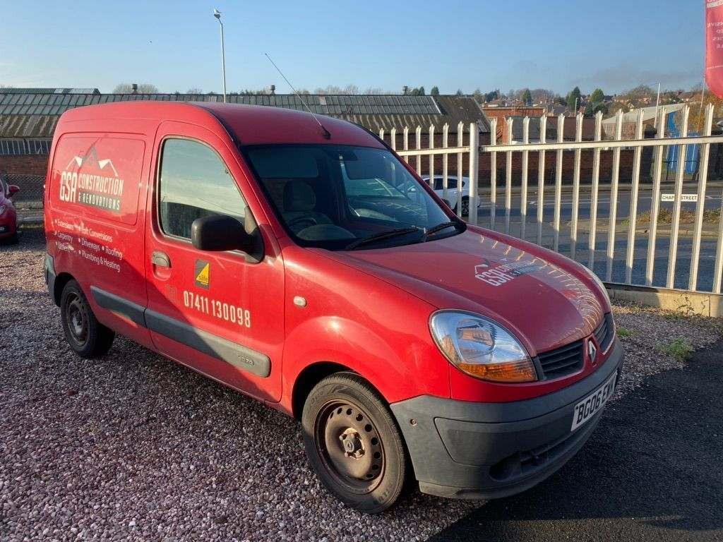 Renault Kangoo Temperature Controlled 1.5 TD dCi SL17 70 Refrigerated Van 3dr (GRP)