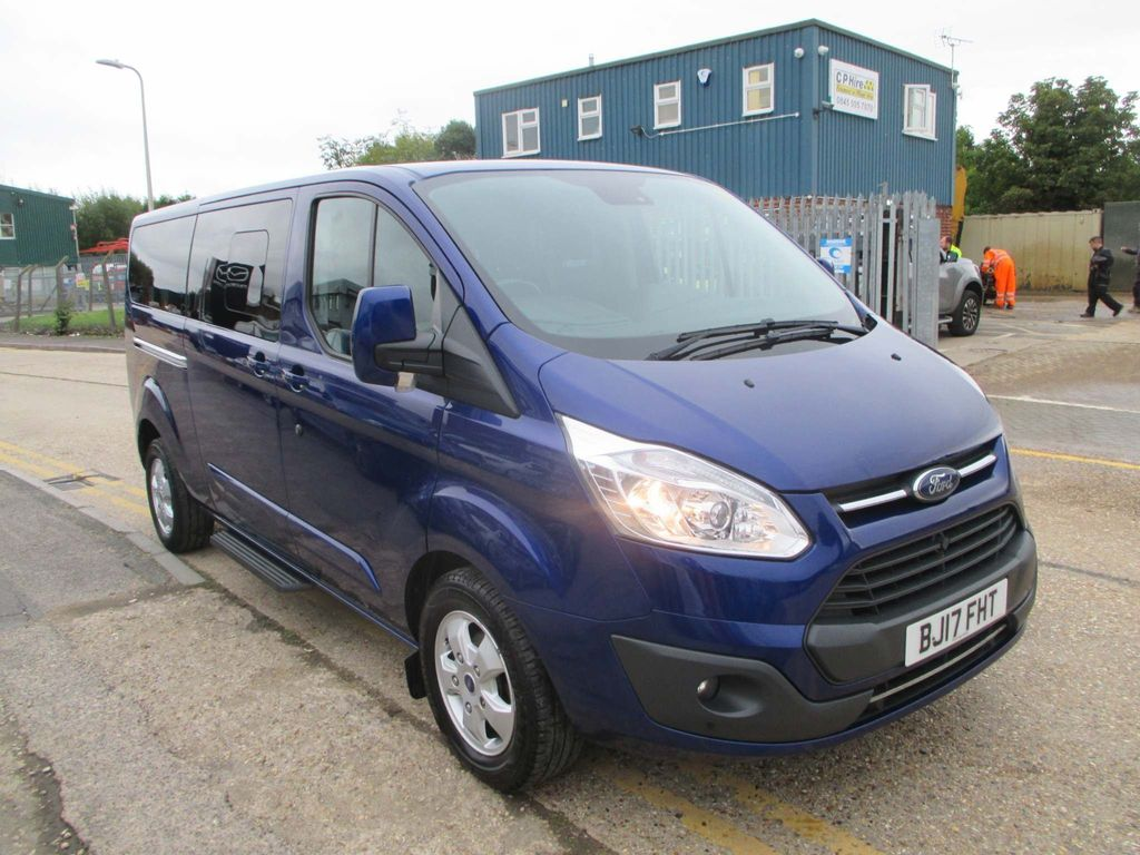 FORD TOURNEO CUSTOM Other 2.0 TDCi 310 L2 Titanium Shuttle Bus 5dr (9 Seats)