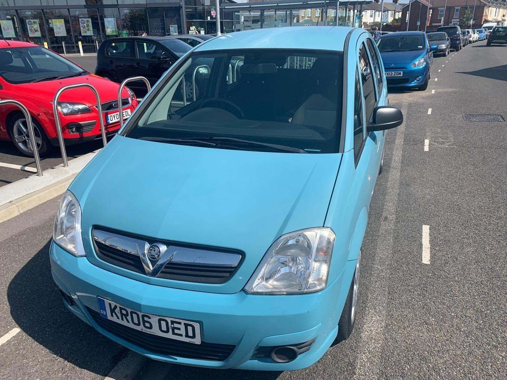 Vauxhall Meriva MPV 1.7 CDTi 16v Life 5dr