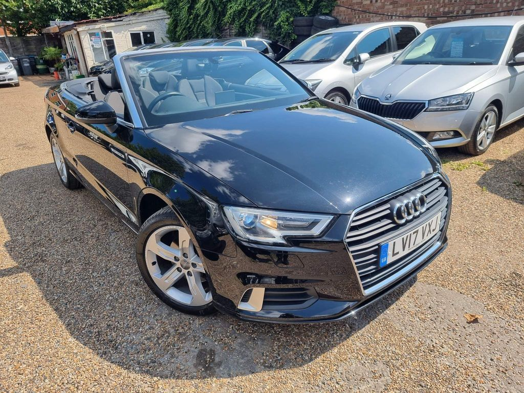 Audi A3 Cabriolet Convertible 1.4 TFSI CoD Sport Cabriolet S Tronic (s/s) 2dr