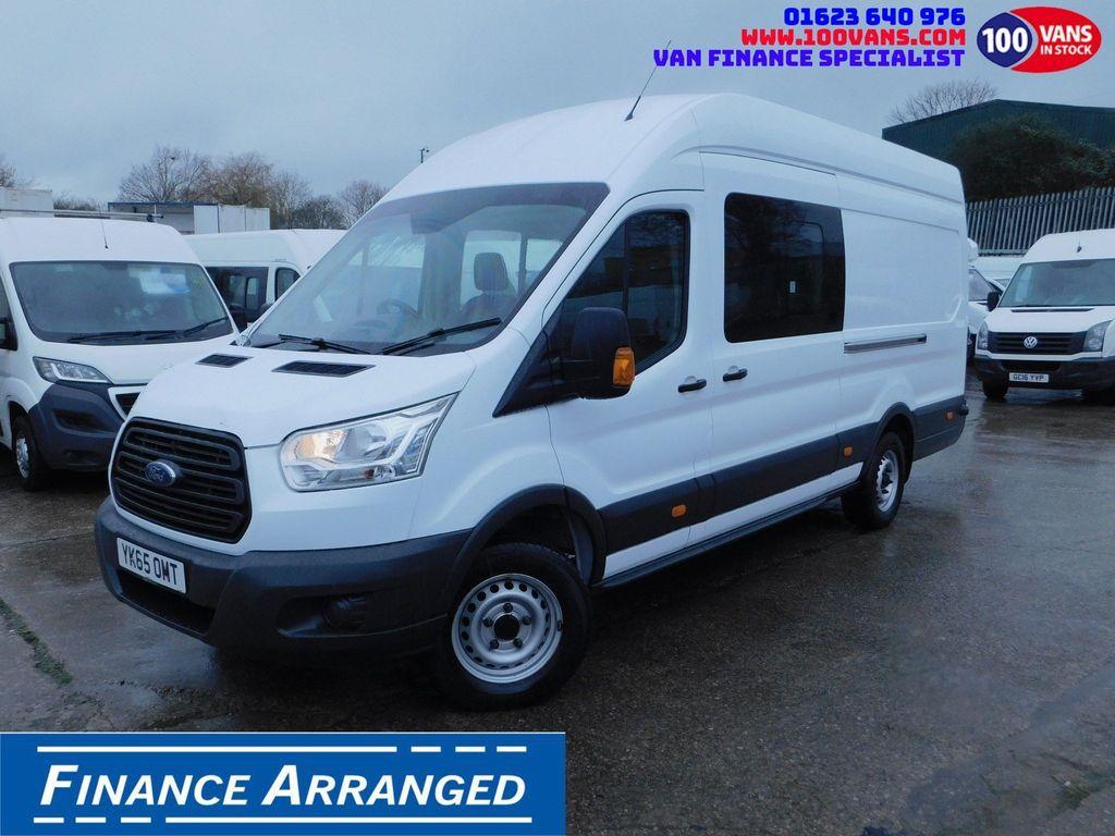 Ford Transit Combi Van 2.2TDCI 125PS L4H3 7 SEAT CREW VAN JUMBO