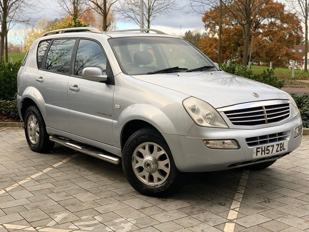 SsangYong Rexton SUV 2.7 TD RX 270 S 5dr (7 Seats)