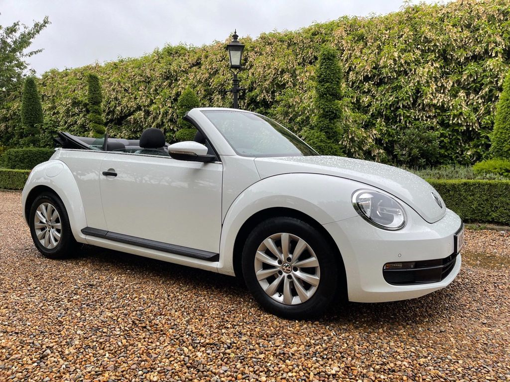 Volkswagen Beetle Convertible 1.2 TSI BlueMotion Tech Cabriolet (s/s) 2dr
