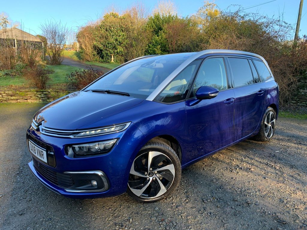Citroen Grand C4 Picasso MPV 2.0 BlueHDi Flair EAT6 (s/s) 5dr