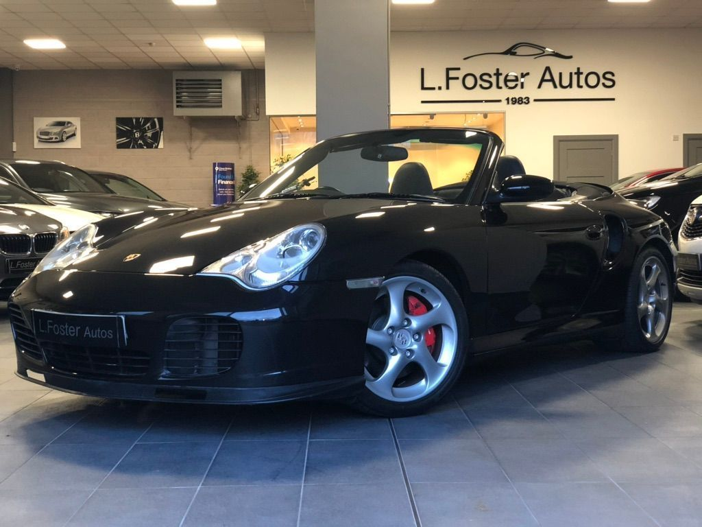 Porsche 911 Convertible 3.6 996 Turbo Cabriolet Tiptronic S AWD 2dr