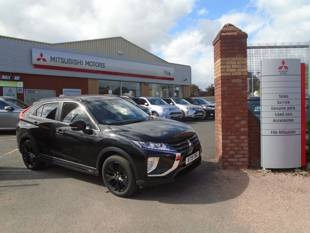 Mitsubishi Eclipse Cross SUV 1.5T Black Connected CVT 4WD (s/s) 5dr