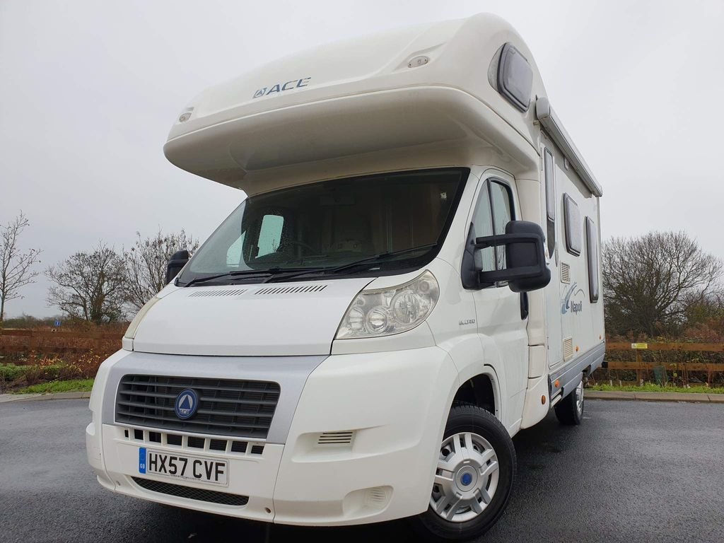 Ace Deposit now taken Coach Built Fiat ducato