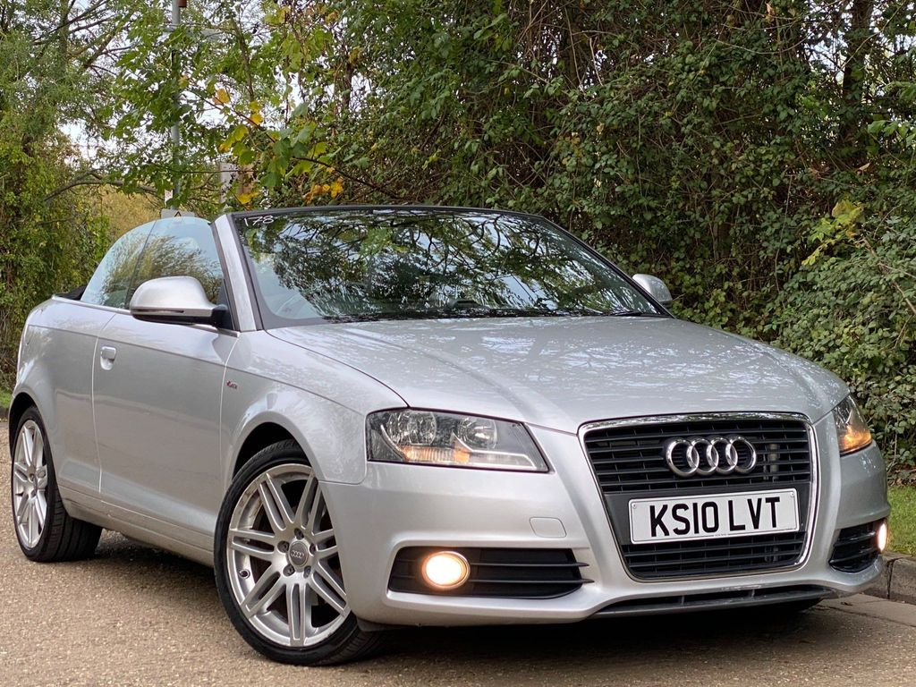 Audi A3 Cabriolet Convertible 2.0 TDI S line S Tronic 2dr