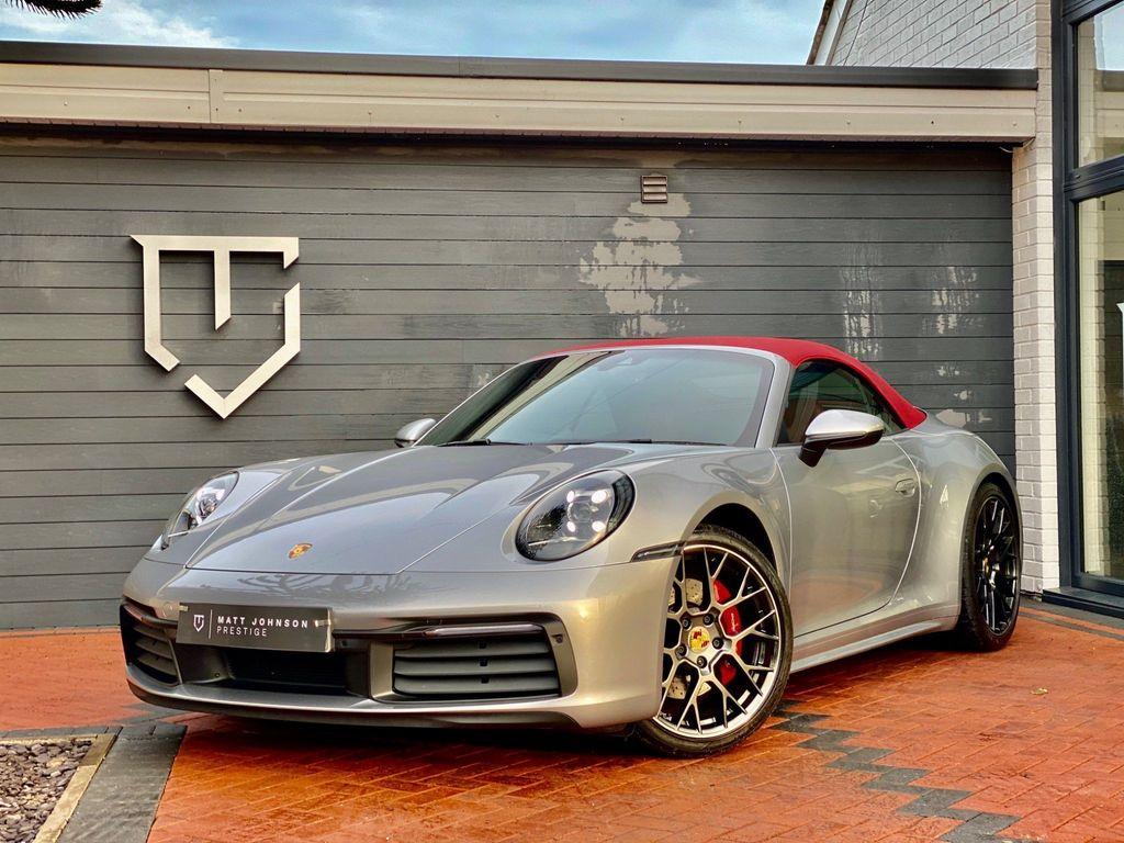 Porsche 911 Convertible 3.0T 992 Carrera S PDK (s/s) 2dr