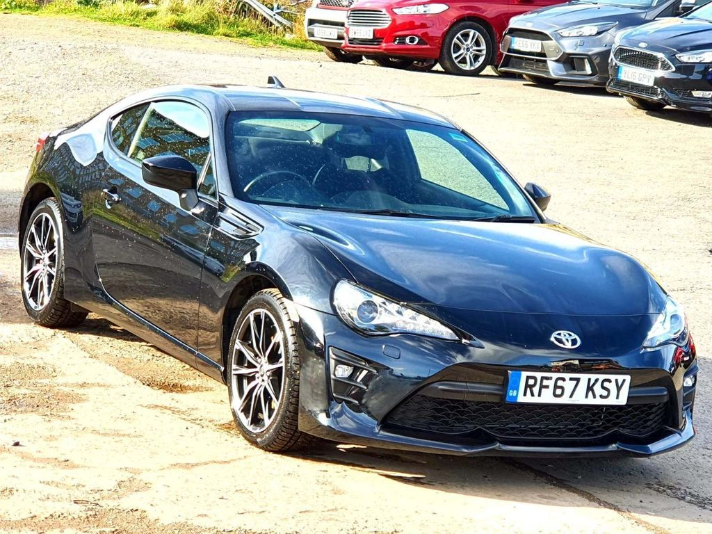 TOYOTA GT86 Coupe 2.0 Boxer D-4S 2dr