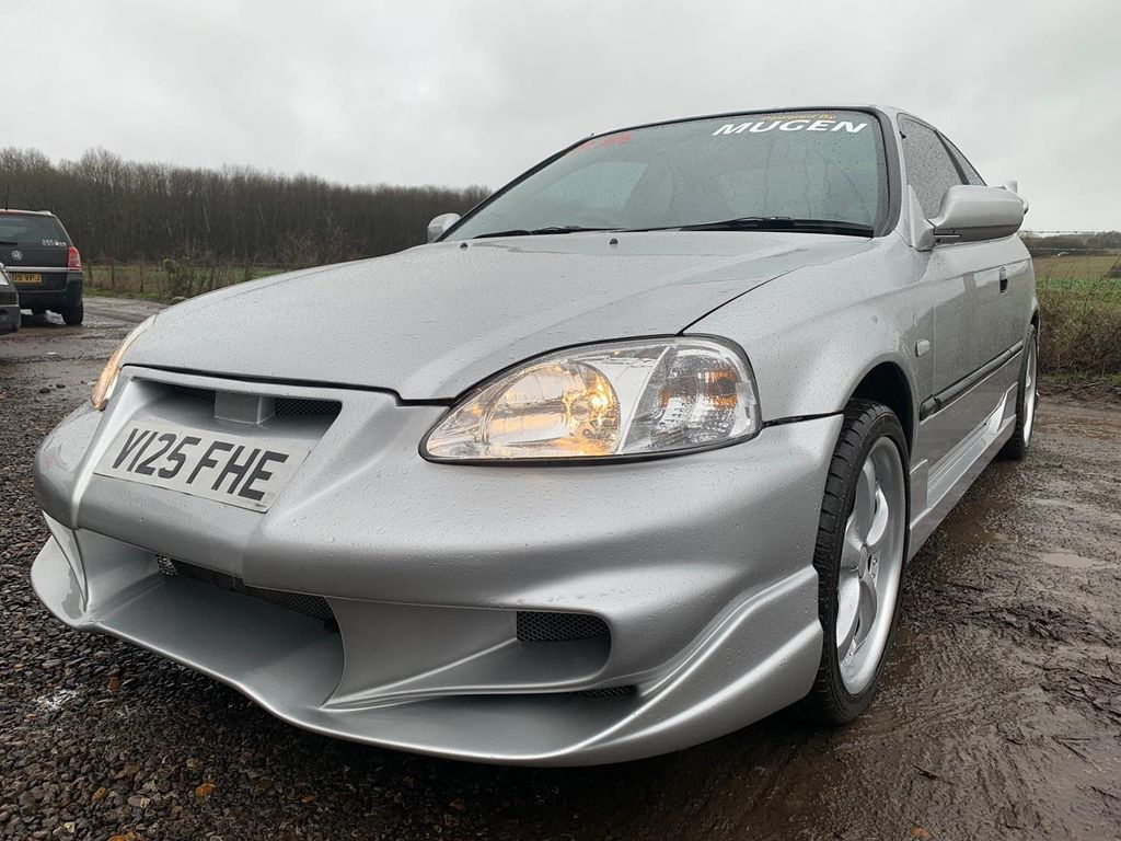 Honda Civic Coupe 1.6 LS 2dr