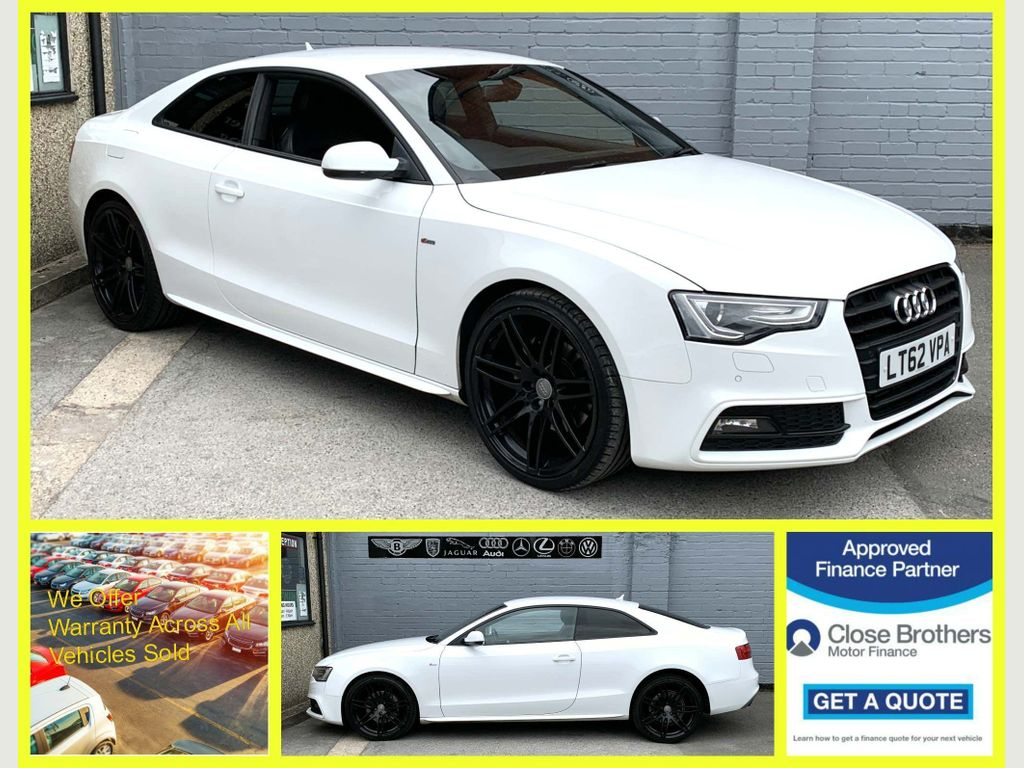 AUDI A5 Coupe 2.0 TFSI Black Edition Multitronic 2dr