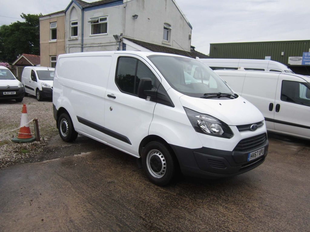 FORD TRANSIT CUSTOM Panel Van 2.0 TDCi 270 L1H1 Panel Van 5dr (EU6)