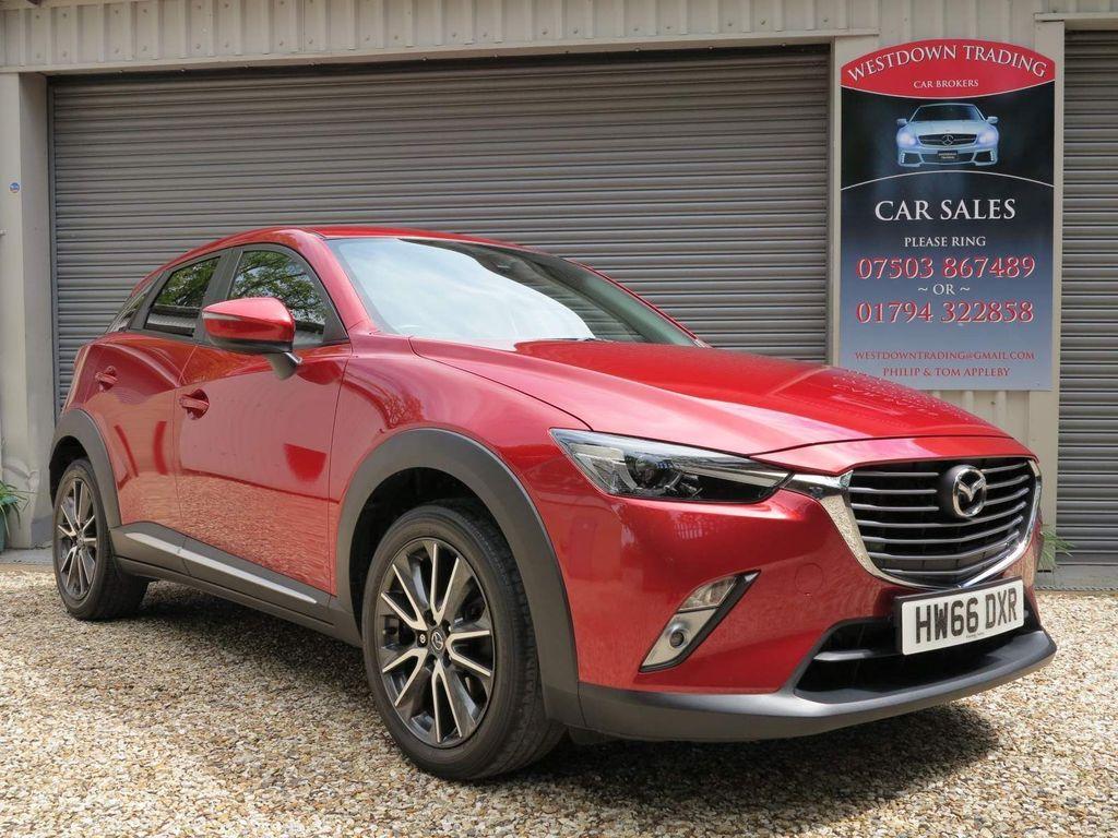 Mazda CX-3 SUV 2.0 SKYACTIV-G Sport Nav (s/s) 5dr