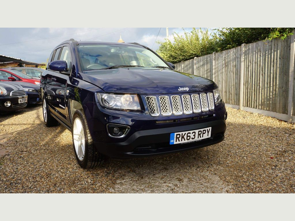 Jeep Compass SUV 2.4 Limited P-Tech 4WD 5dr