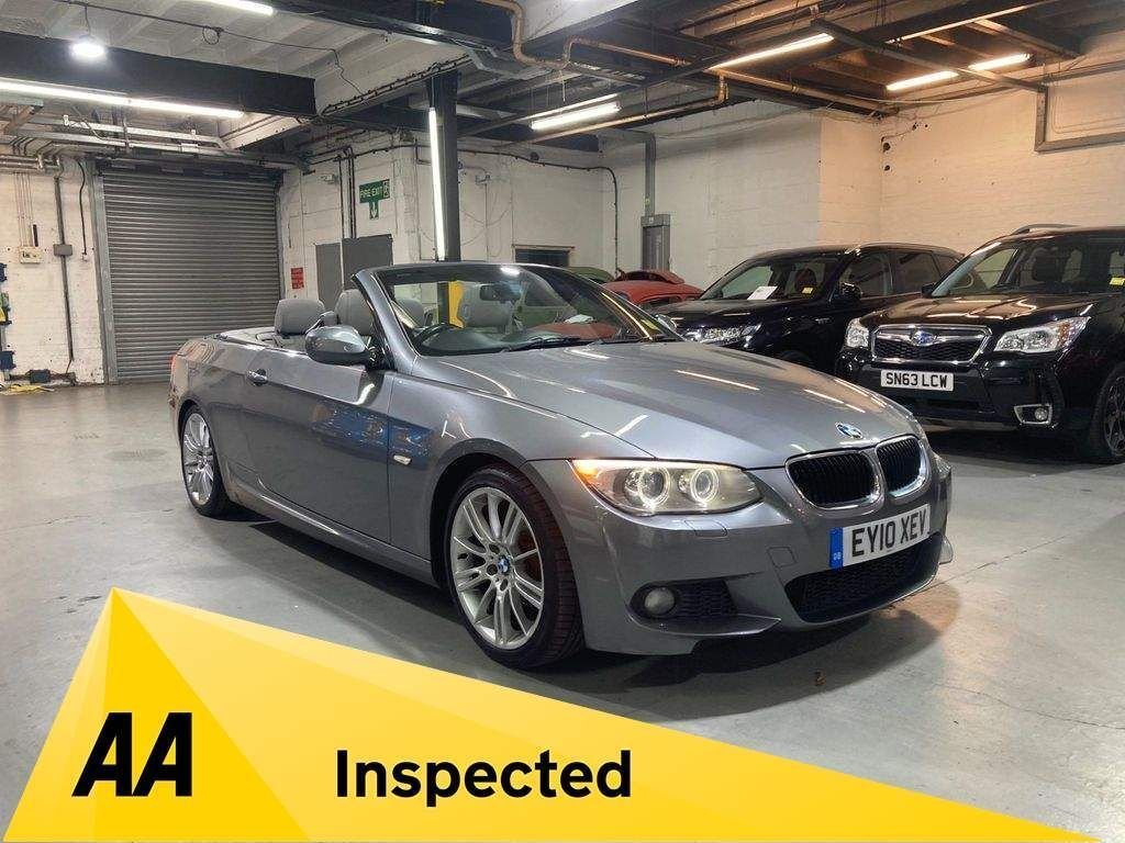 BMW 3 Series Convertible 2.0 320i M Sport Auto 2dr