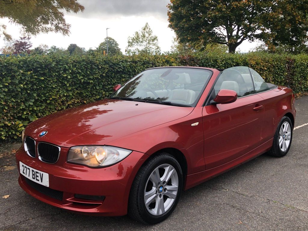 BMW 1 Series Convertible 2.0 120d SE Auto 2dr