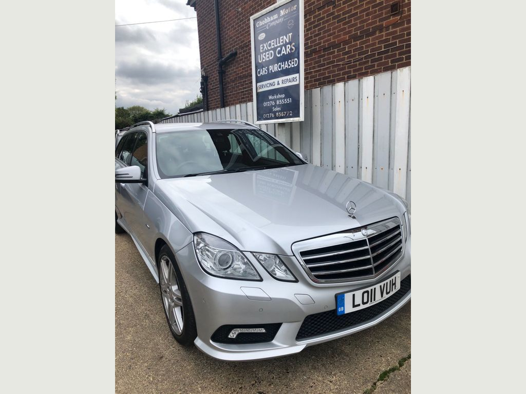 Mercedes-Benz E Class Estate 2.1 E250 CDI BlueEFFICIENCY Sport Auto 5dr