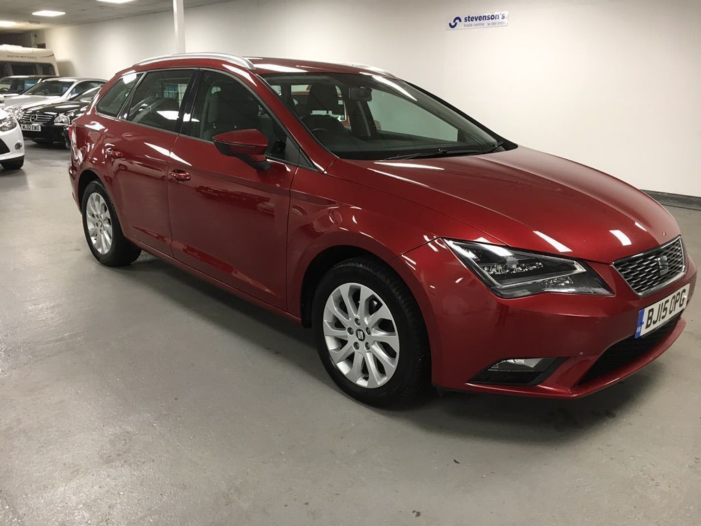 SEAT Leon Estate 1.6 TDI CR SE (Tech Pack) ST (s/s) 5dr