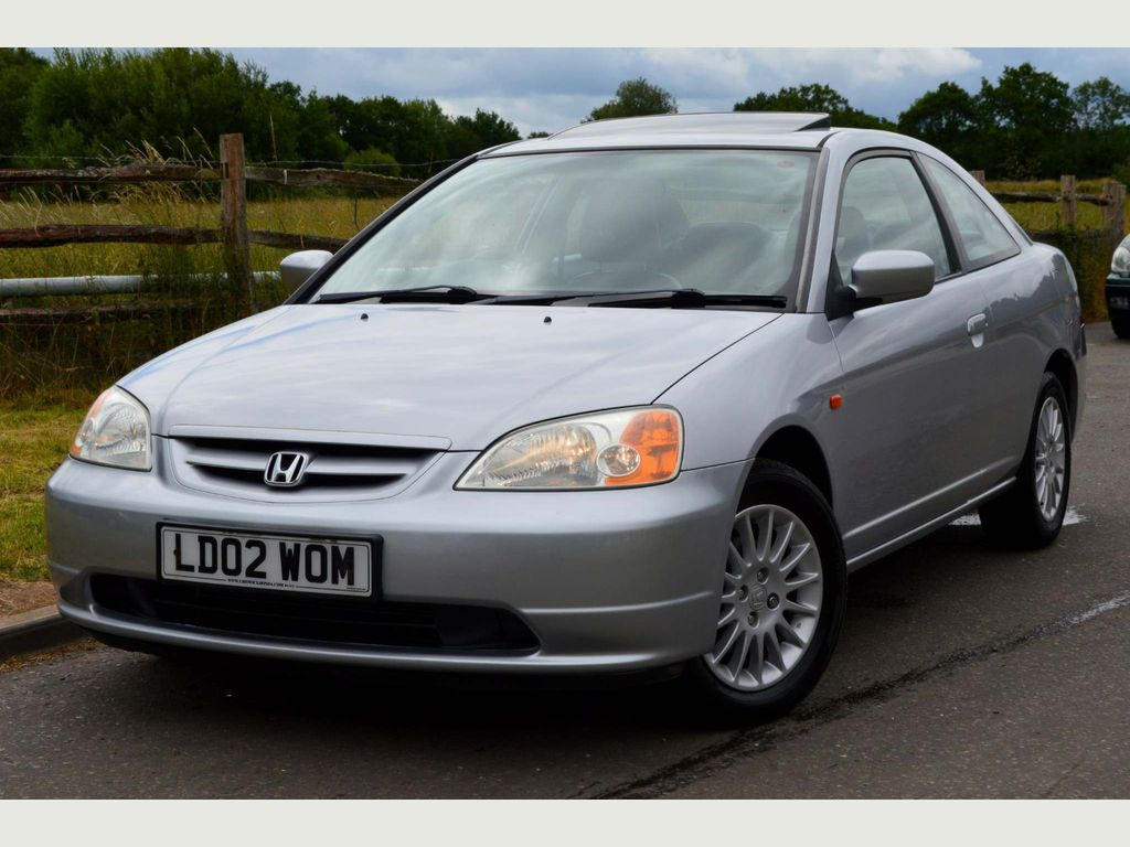 Honda Civic Coupe 1.7 i Limited Edition 2dr