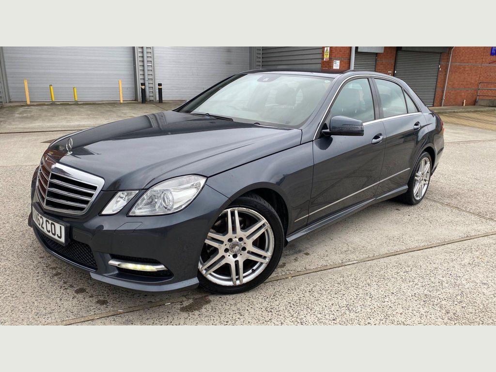 Mercedes-Benz E Class Saloon 2.1 E220 CDI BlueEFFICIENCY Sport 7G-Tronic Plus (s/s) 4dr