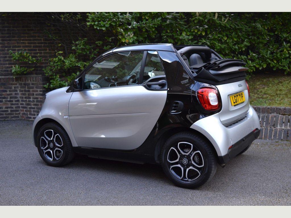 Smart fortwo Convertible 1.0 Prime (Premium) Cabriolet Twinamic (s/s) 2dr