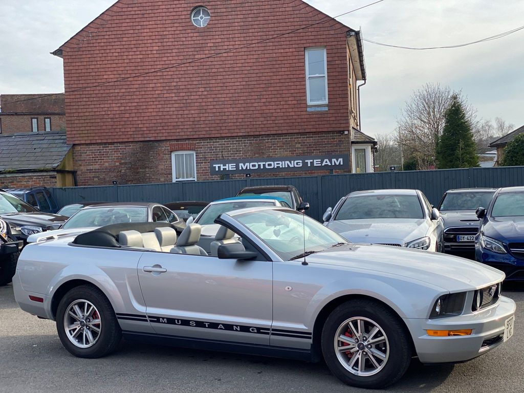 Ford Mustang Convertible 4.0 V6 AUTOMATIC CONVERTIBLE UK SUPPLIED