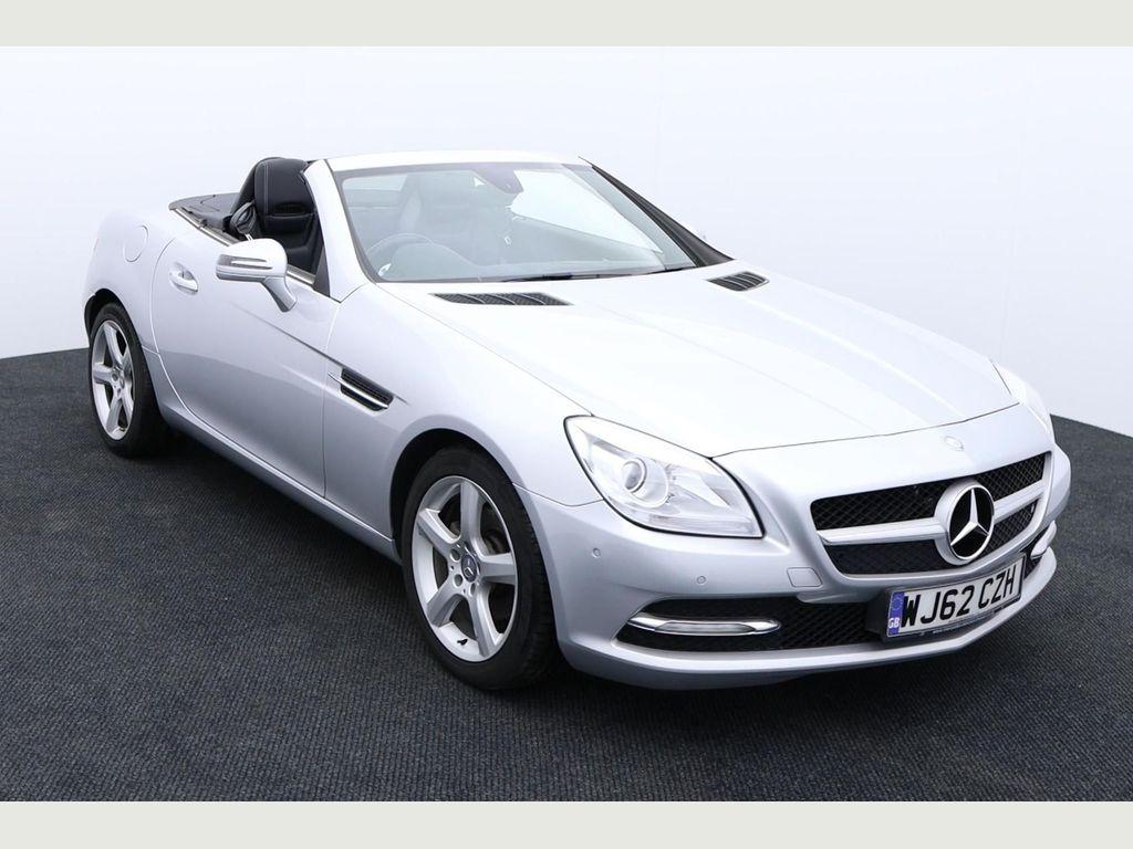 Mercedes-Benz SLK Convertible 1.8 SLK200 BlueEFFICIENCY (s/s) 2dr