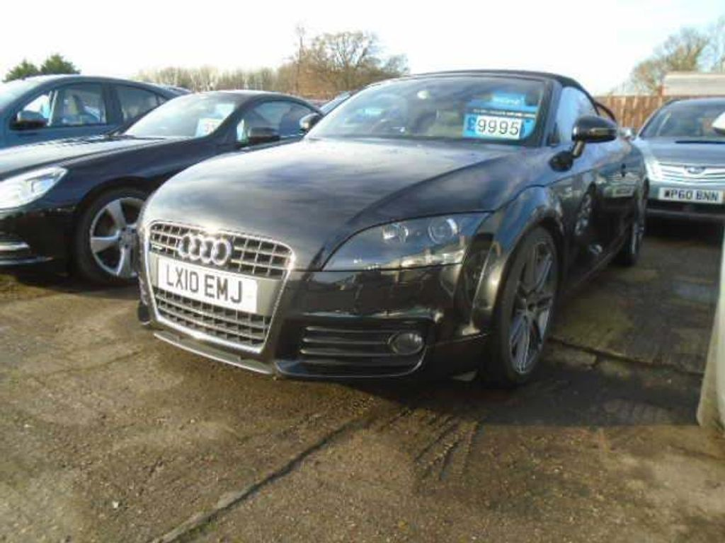 Audi TT Convertible 2.0 TFSI S line Special Edition Roadster quattro S Tronic 2dr