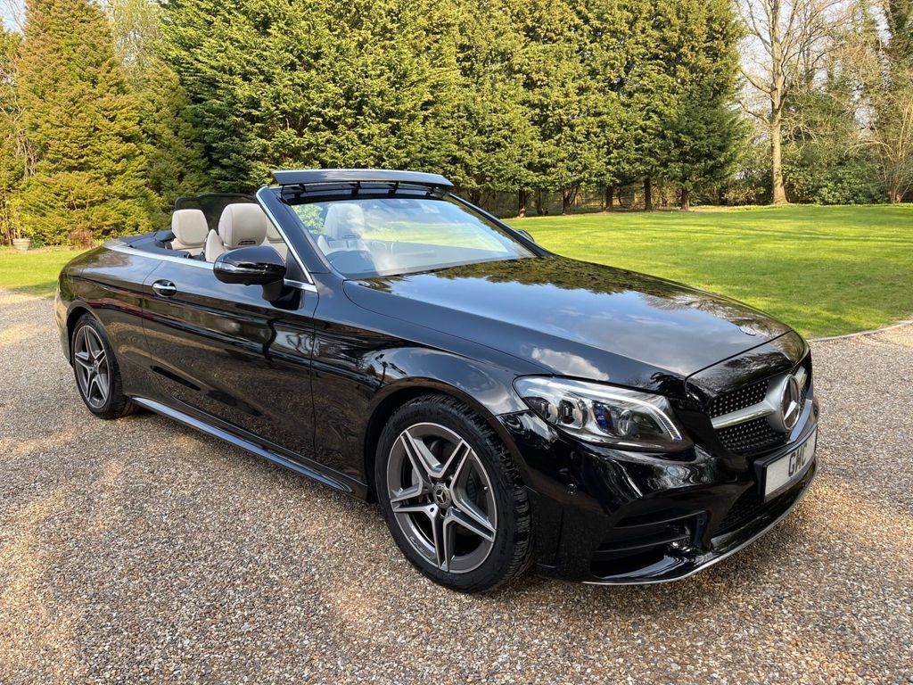 Mercedes-Benz C Class Convertible 1.5 C200 EQ Boost AMG Line (Premium Plus) Cabriolet G-Tronic+ (s/s) 2dr