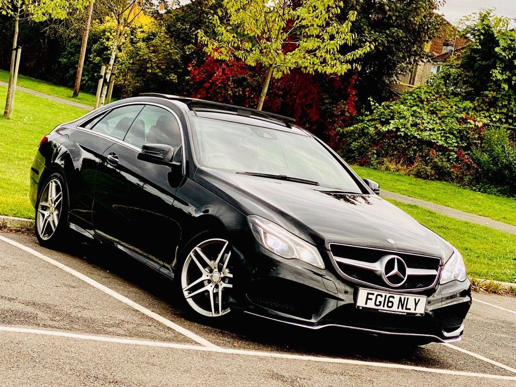 Mercedes-Benz E Class Coupe 2.0 E200 AMG Line (Premium) 7G-Tronic Plus (s/s) 2dr