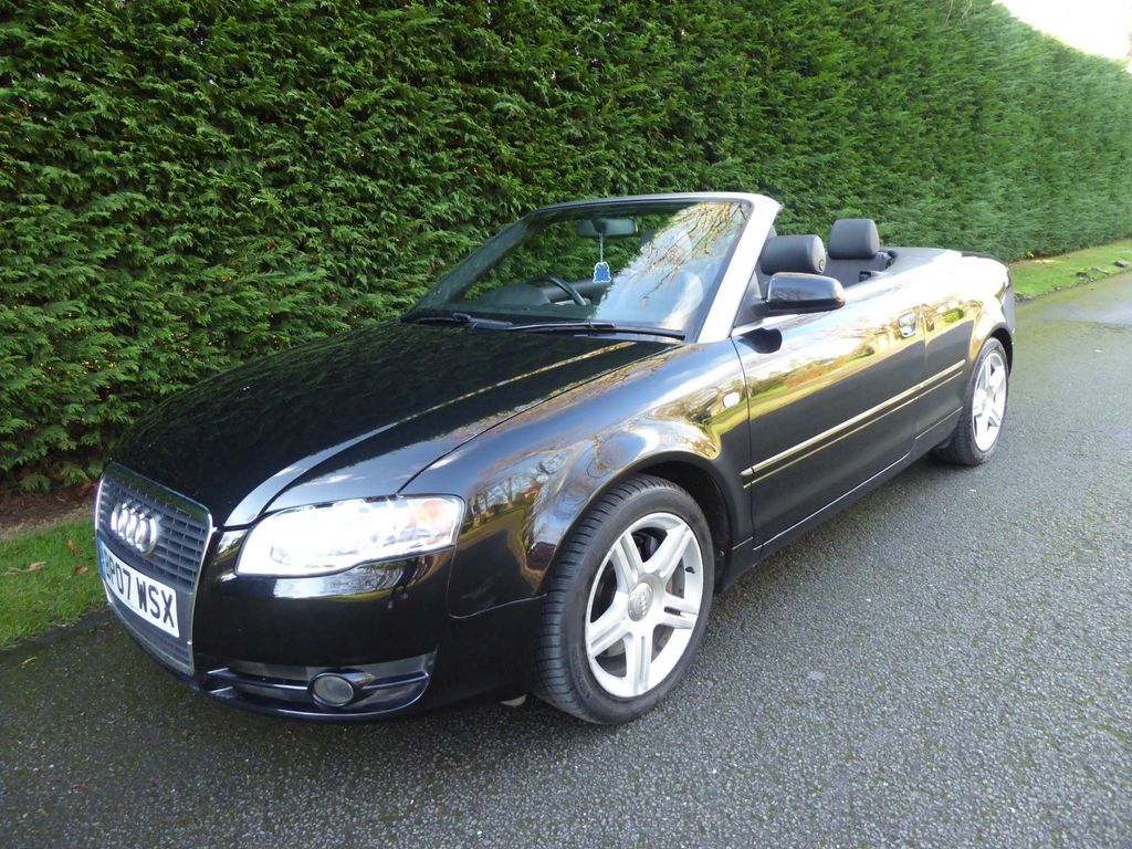 Audi A4 Cabriolet Convertible 2.0 TFSI Sport Cabriolet 2dr