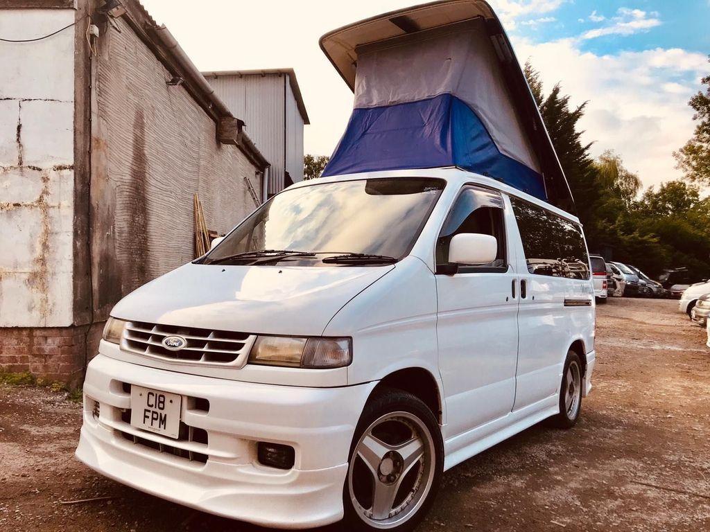 Mazda BONGO AFT 4 BERTH FULL SIDE CAMPER CONVERSION Campervan 2.5 TD 6 SEATER
