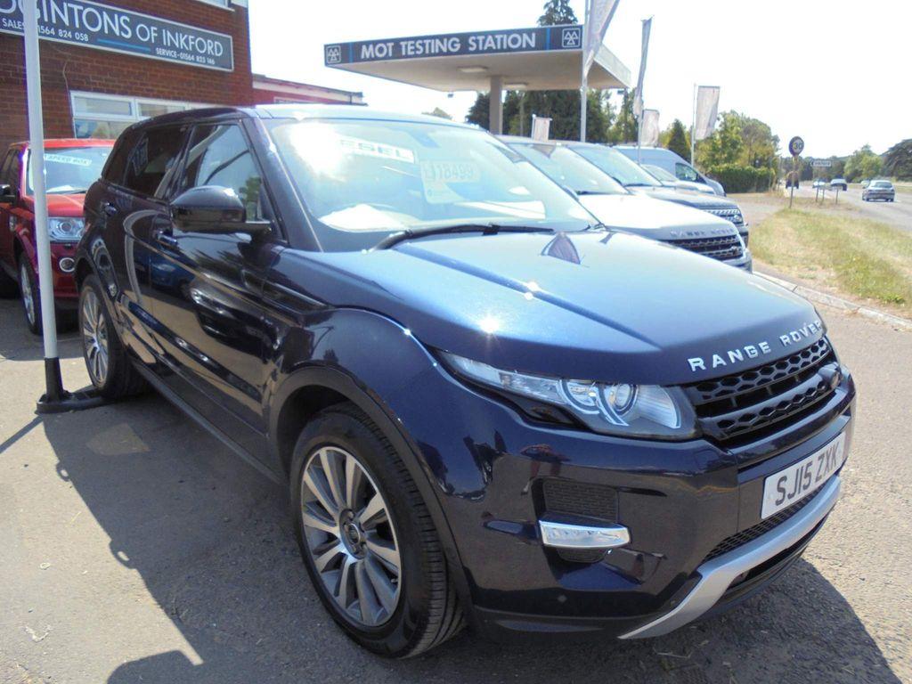 Land Rover Range Rover Evoque SUV 2.2 SD4 Dynamic (Lux) AWD 5dr