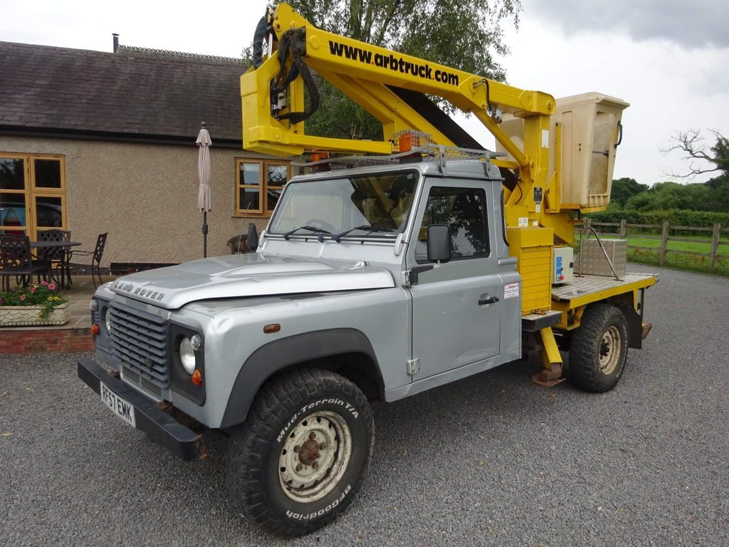 Land Rover Defender 130 Chassis Cab Cherry picker