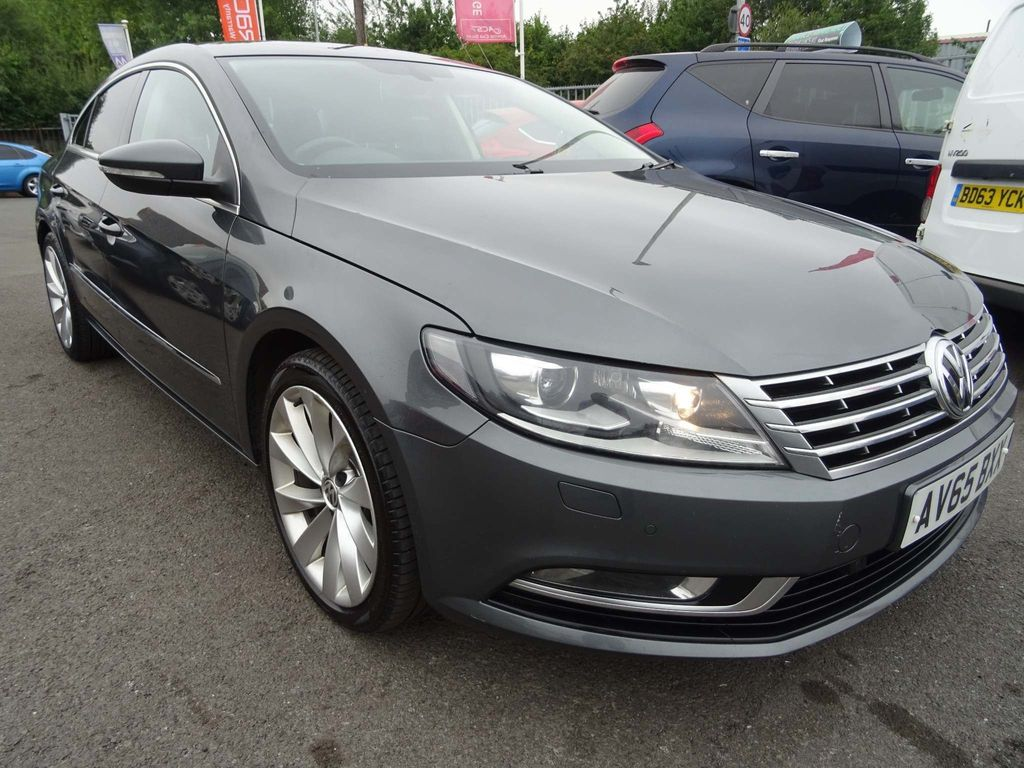 Volkswagen CC Saloon 2.0 TDI BlueMotion Tech GT (s/s) 4dr