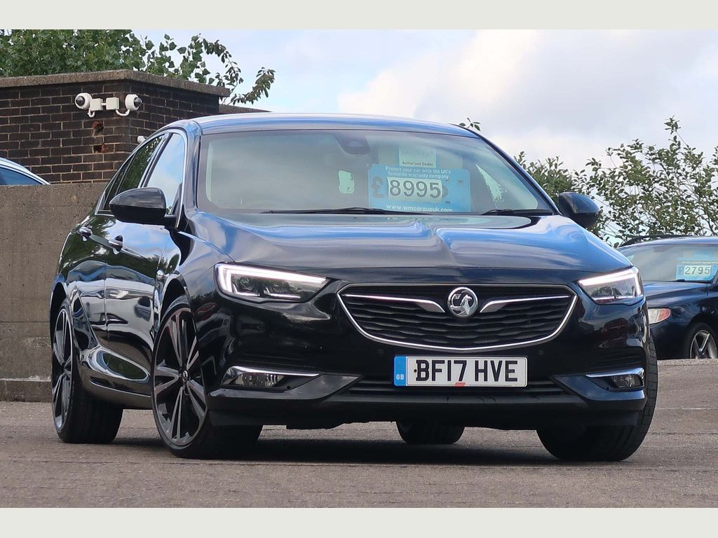 Vauxhall Insignia Hatchback 2.0 Turbo D BlueInjection Elite Nav Grand Sport (s/s) 5dr