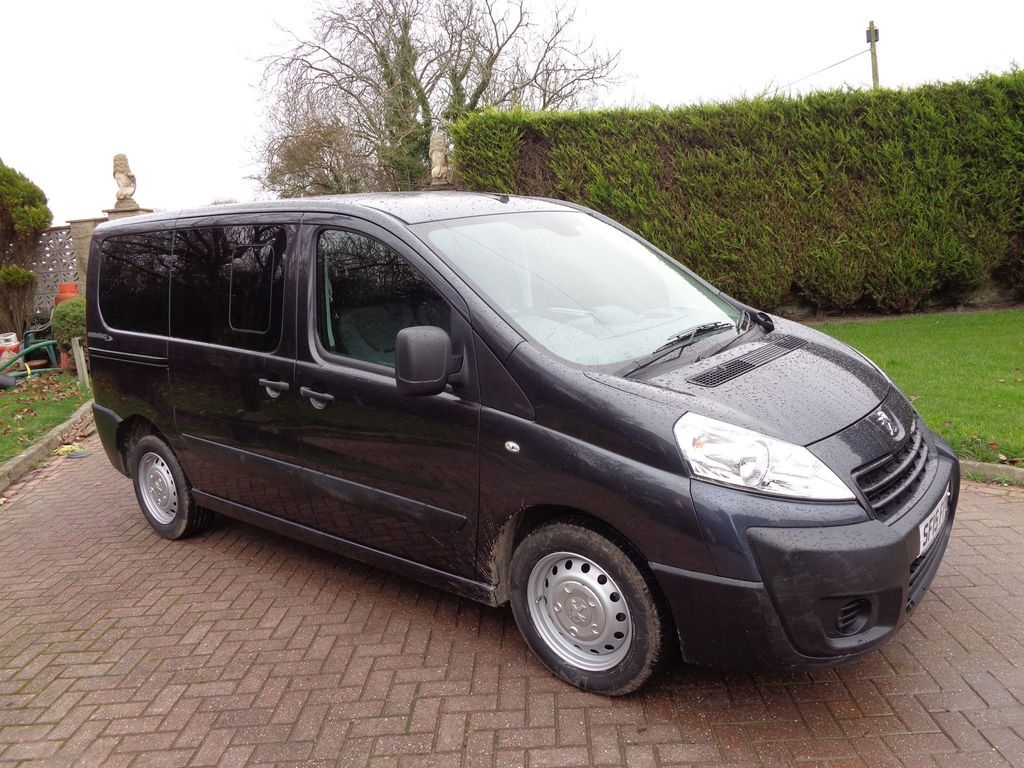 Peugeot Expert Tepee Other 2.0 HDi L1 Tepee Comfort Combi 5/6 Seater 4dr