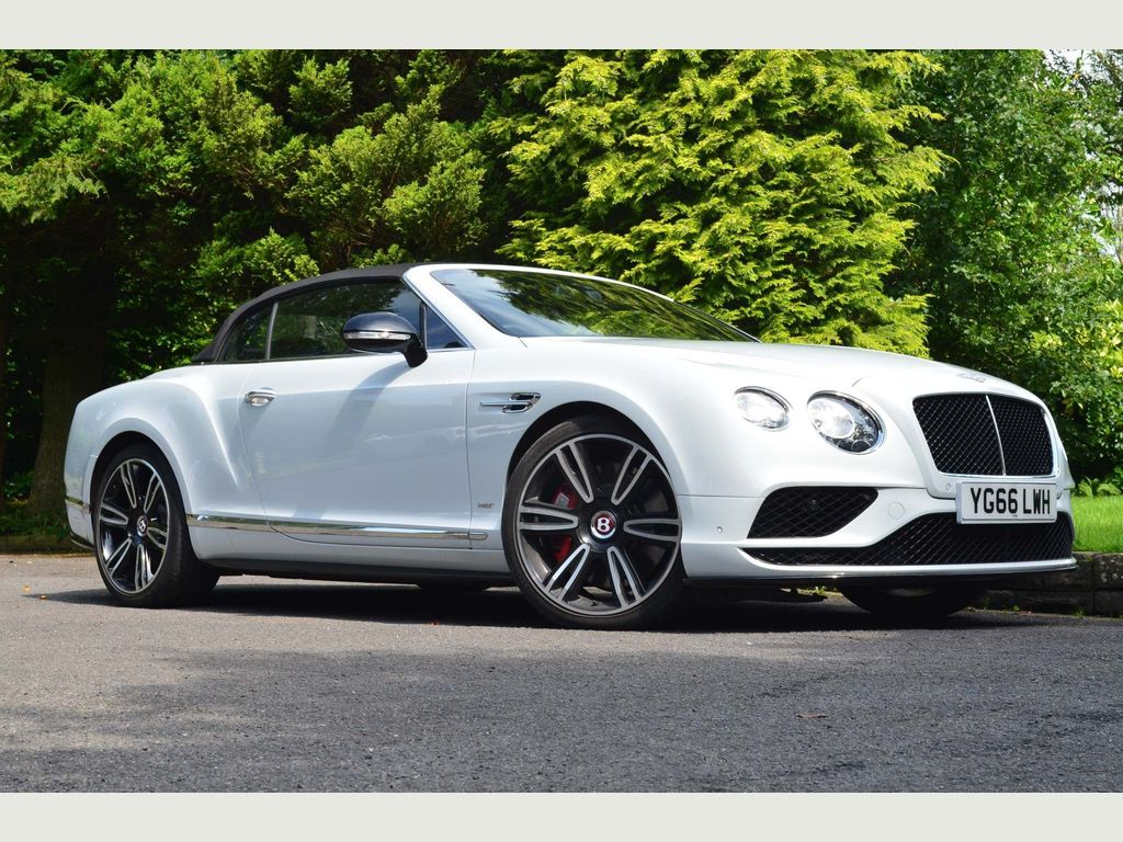 Bentley Continental Convertible 4.0 V8 GTC S Auto 4WD 2dr