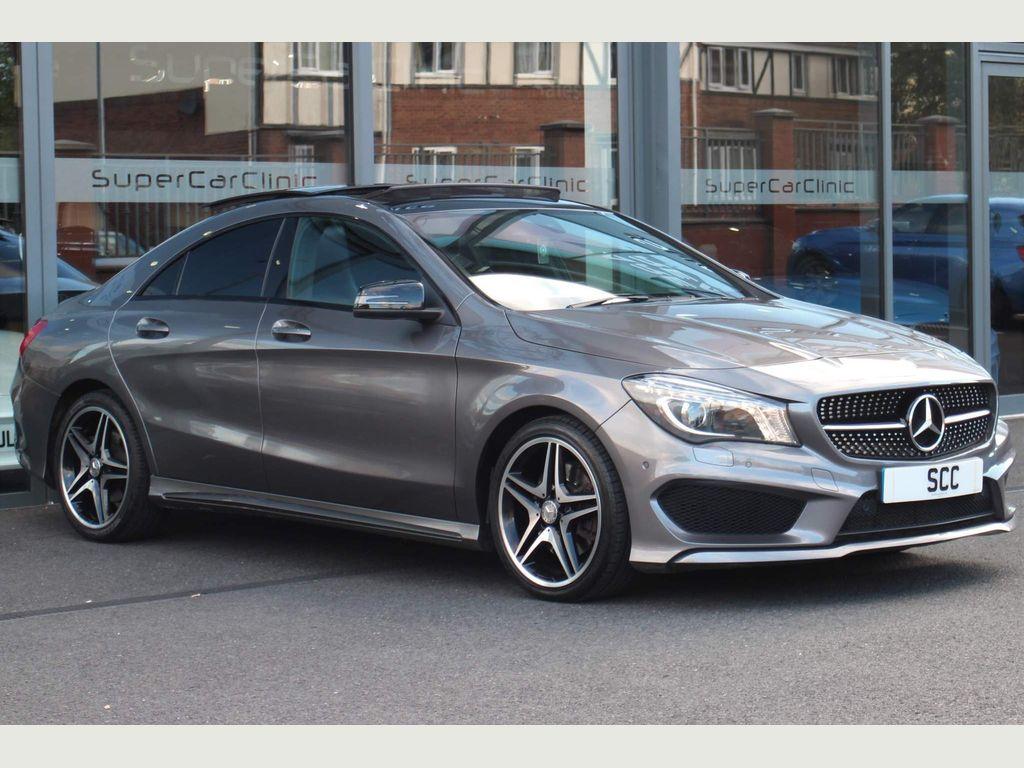 Mercedes-Benz CLA Class Coupe 2.1 CLA220 CDI AMG Sport COMAND 7G-DCT (s/s) 4dr