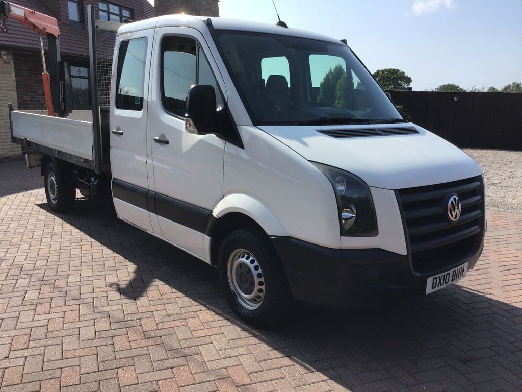 Volkswagen Crafter Chassis Cab 2.5 BlueTDI CR35 Crew Cab Chassis 4dr (LWB)