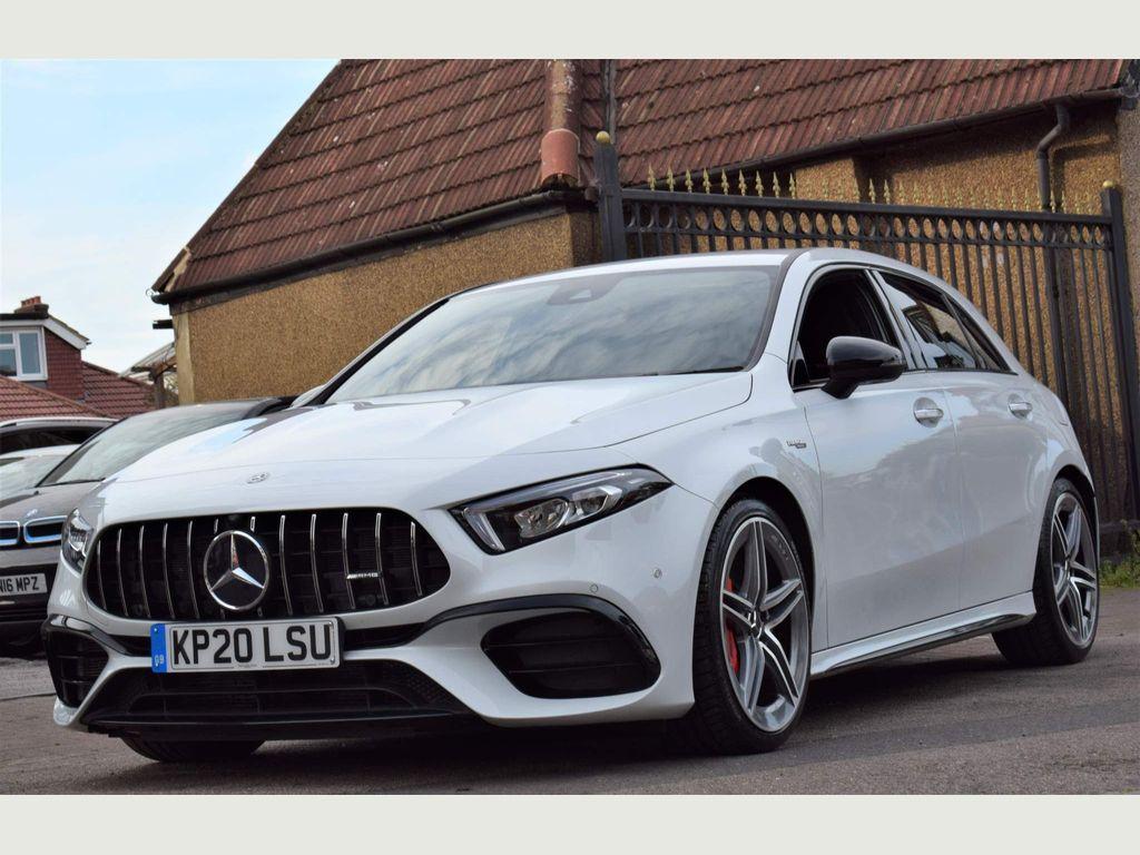 Mercedes-Benz A Class Hatchback 2.0 A45 AMG S 8G-DCT 4MATIC+ (s/s) 5dr