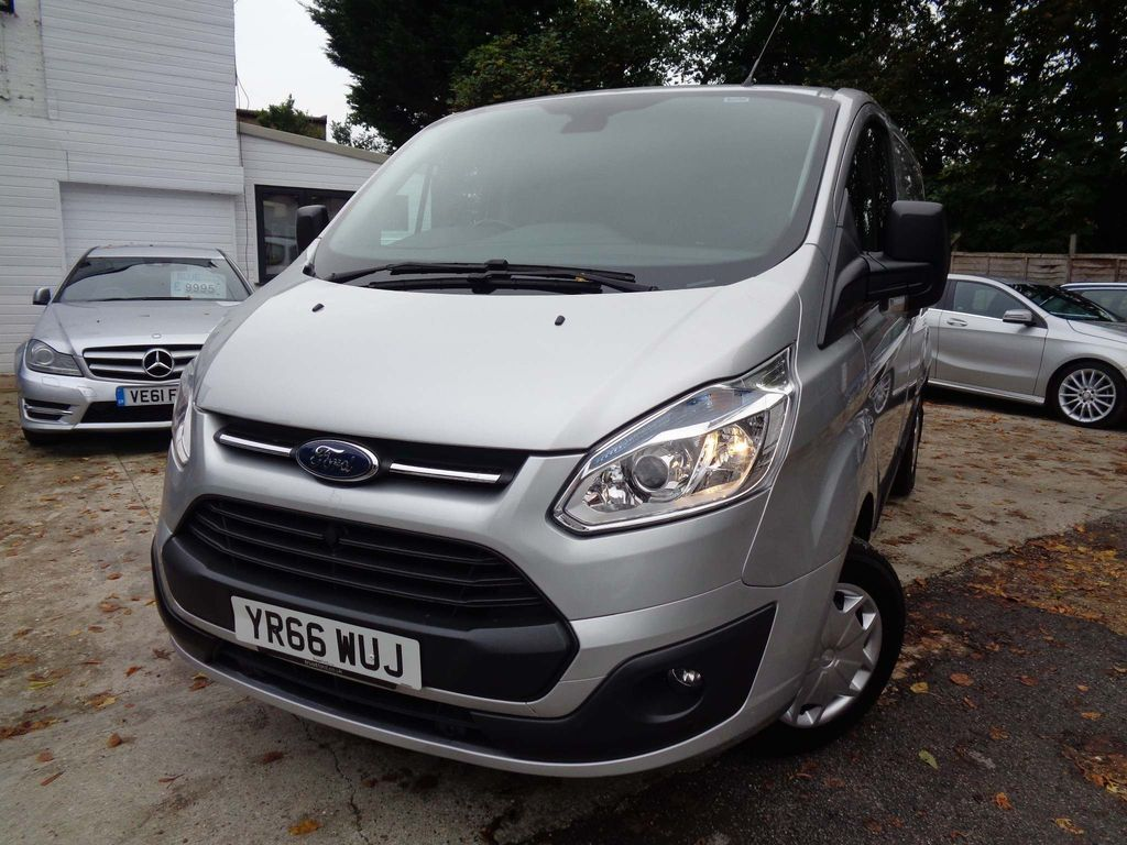 FORD TRANSIT CUSTOM Panel Van 2.0 TDCi 270 L1H1 Trend Panel Van 5dr (EU6)