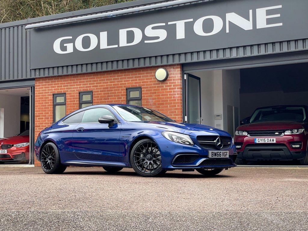 Mercedes-Benz C Class Coupe 4.0 C63 V8 BiTurbo AMG SpdS MCT (s/s) 2dr