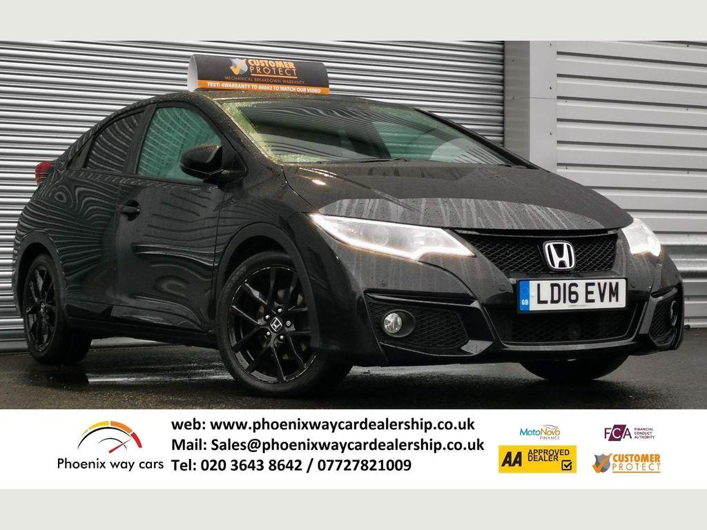 Honda Civic Hatchback 1.8 i-VTEC Sport Auto 5dr