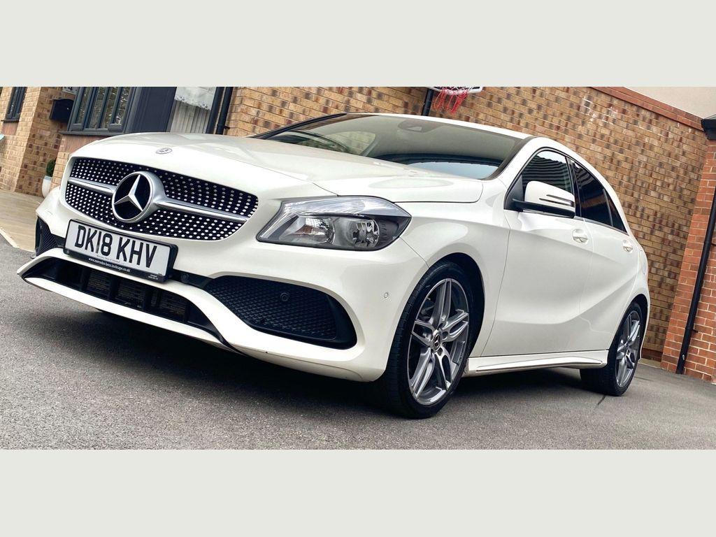 Mercedes-Benz A Class Hatchback 1.6 A180 AMG Line (Executive) 7G-DCT (s/s) 5dr