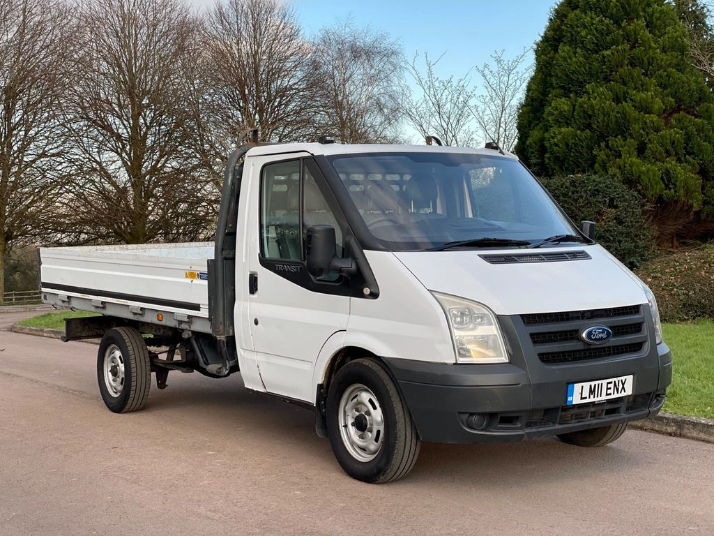 Ford Transit Combi Van 2.4 TD 350 Dropside Truck M 2dr (MWB)