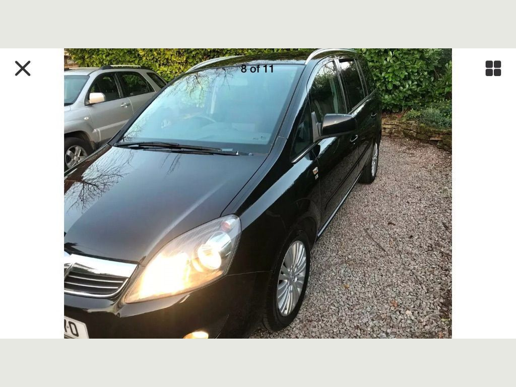 Used Vauxhall Zafira Mpv 1 6 I Excite 5dr In Edwinstowe