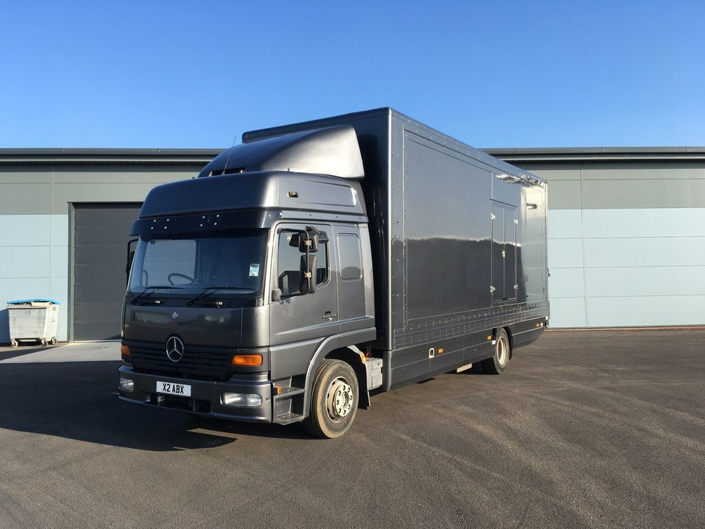 Mercedes-Benz 207 Vehicle Transporter MERCEDES 1528L CAR TRANSPORTER