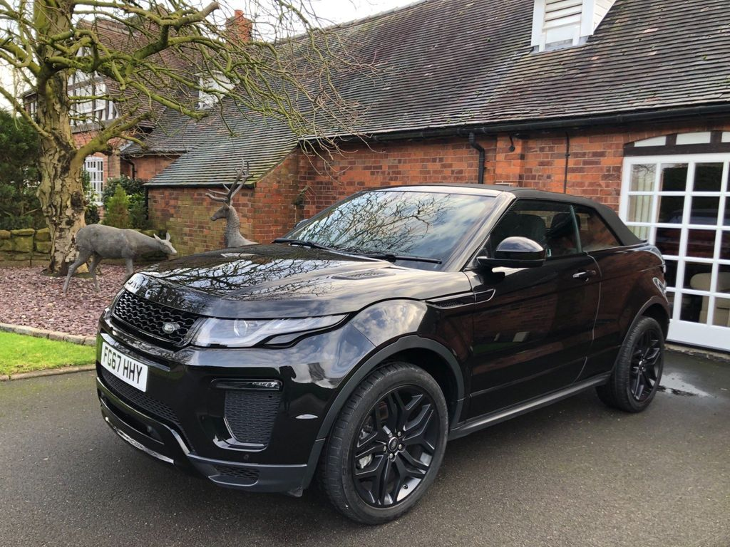 Land Rover Range Rover Evoque Convertible 2.0 TD4 HSE Dynamic Auto 4WD (s/s) 2dr